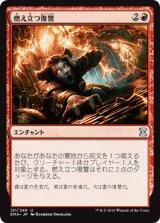 燃え立つ復讐/Burning Vengeance 【日本語版】 [EMA-赤U]《状態:NM》