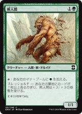熊人間/Werebear 【日本語版】 [EMA-緑C]