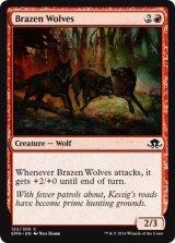 猛々しい狼/Brazen Wolves 【英語版】[EMN-赤C]