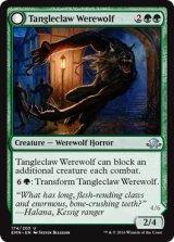 絡み爪の人狼/Tangleclaw Werewolf 【英語版】[EMN-緑U]
