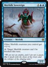 マーフォークの君主/Merfolk Sovereign 【英語版】 [EO2-青R]