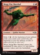 モグの戦争司令官/Mogg War Marshal 【英語版】[EVG-赤C]