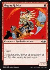 怒り狂うゴブリン/Raging Goblin 【英語版】 [EVG-赤C]《状態:NM》