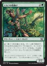エルフの枝曲げ/Elvish Branchbender 【日本語版】 [EVI-緑C]