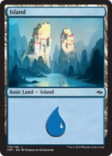 島/Island No.178 【英語版】 [FRF-土地]《状態:NM》