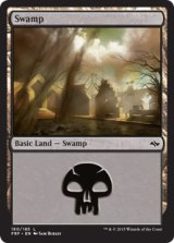 沼/Swamp No.180【英語版】 [FRF-土地]《状態:NM》
