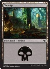 沼/Swamp No.181【英語版】 [FRF-土地]《状態:NM》