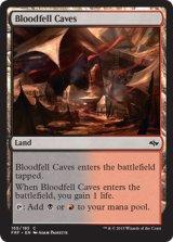 血溜まりの洞窟/Bloodfell Caves 【英語版】 [FRF-土地C]《状態:NM》