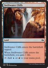 急流の崖/Swiftwater Cliffs 【英語版】 [FRF-土地C]《状態:NM》