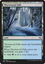茨森の滝/Thornwood Falls 【英語版】 [FRF-土地C]《状態:NM》