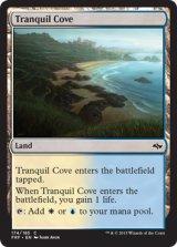 平穏な入り江/Tranquil Cove 【英語版】 [FRF-土地C]《状態:NM》