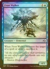 [FOIL] 霜歩き/Frost Walker 【英語版】 [FRF-青U]