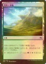 [FOIL] 花咲く砂地/Blossoming Sands 【日本語版】  [FRF-土地C]