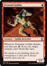 激情のゴブリン/Frenzied Goblin 【英語版】 [GK1-赤U]
