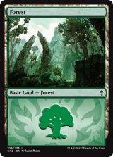 森/Forest No.106 【英語版】 [GK2-土地C]
