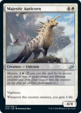 壮麗な金角獣/Majestic Auricorn 【英語版】 [IKO-白U]《状態:NM》