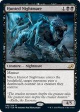 狩り立てられた悪夢/Hunted Nightmare 【英語版】 [IKO-黒R]《状態:NM》