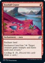 踏み穴のクレーター/Footfall Crater 【英語版】 [IKO-赤U]《状態:NM》