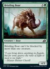 逆毛の猪/Bristling Boar 【英語版】 [IKO-緑C]《状態:NM》