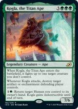 巨大猿、コグラ/Kogla, the Titan Ape 【英語版】 [IKO-緑R]《状態:NM》