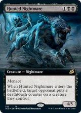 狩り立てられた悪夢/Hunted Nightmare (拡張アート版) 【英語版】 [IKO-黒R]