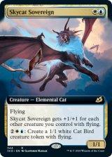 空猫の君主/Skycat Sovereign (拡張アート版) 【英語版】 [IKO-金R]《状態:NM》