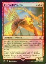 [FOIL] 永遠羽のフェニックス/Everquill Phoenix 【英語版】 [IKO-赤R]《状態:NM》