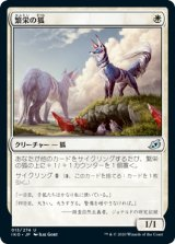 繁栄の狐/Flourishing Fox 【日本語版】 [IKO-白U]《状態:NM》