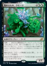集めるもの、ウモーリ/Umori, the Collector 【日本語版】 [IKO-混R]《状態:NM》