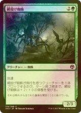 [FOIL] 網投げ蜘蛛/Netcaster Spider 【日本語版】 [IMA-緑C]