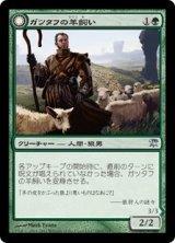 ガツタフの羊飼い/Gatstaf Shepherd 【日本語版】 [ISD-緑U]