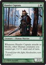 小村の隊長/Hamlet Captain 【英語版】 [ISD-緑U]《状態:NM》