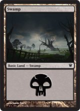 沼/Swamp No.256 【英語版】 [ISD-土地]