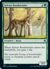森の刷毛履き/Sylvan Brushstrider 【英語版】 [JMP-緑C]