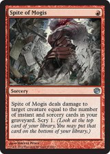 モーギスの悪意/Spite of Mogis 【英語版】 [JOU-赤U]《状態:NM》