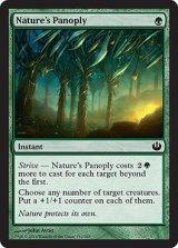 自然からの武装/Nature's Panoply 【英語版】 [JOU-緑C]《状態:NM》