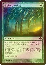 [FOIL] 自然からの武装/Nature's Panoply 【日本語版】 [JOU-緑C]
