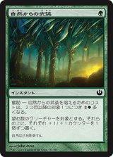 自然からの武装/Nature's Panoply 【日本語版】 [JOU-緑C]《状態:NM》