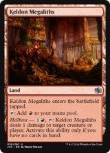 ケルドの巨石/Keldon Megaliths 【英語版】[JVC-茶U]