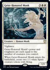 霊誉の僧兵/Geist-Honored Monk 【英語版】 [KHC-白R]