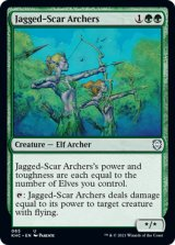 鋸歯傷の射手/Jagged-Scar Archers 【英語版】 [KHC-緑U]
