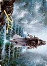 [アート・カード] カーフェルの先触れ/Karfell Harbinger No.017 (箔押し版) 【英語版】 [KHM-トークン]