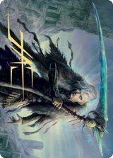 [アート・カード] 死の神、イーガン/Egon, God of Death No.024 (箔押し版) 【英語版】 [KHM-トークン]