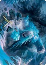 [アート・カード] 氷皮のトロール/Icehide Troll No.046 (箔押し版) 【日本語版】 [KHM-トークン]