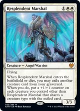 【予約】輝かしい司令官/Resplendent Marshal 【英語版】 [KHM-白MR]