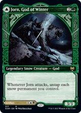 【予約】冬の神、ヨーン/Jorn, God of Winter (ショーケース版) 【英語版】 [KHM-緑R]