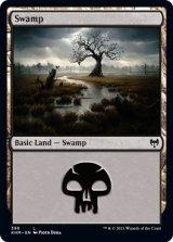 沼/Swamp 【英語版】 [KHM-土地C]