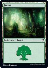 森/Forest 【英語版】 [KHM-土地C]