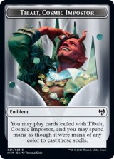 紋章・ティボルト/Emblem Tibalt 【英語版】 [KHM-トークン]