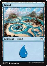 島/Island No.254 【英語版】 [KLD-土地]《状態:NM》